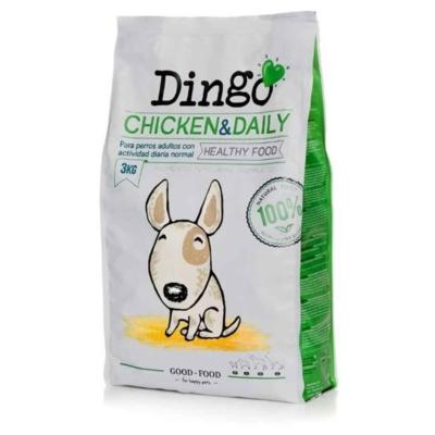 DINGO - CROQUETTES ADULTE CHICKEN & DAILY 3KG