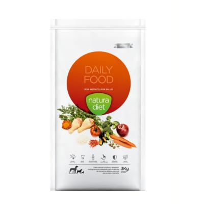 NATURA DIET - CROQUETTES ADULTE DAILY FOOD POULET 500GR
