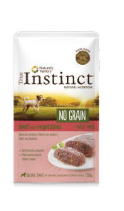 TRUE INSTINCT NO GRAIN MINI BOEUF150G POCHON