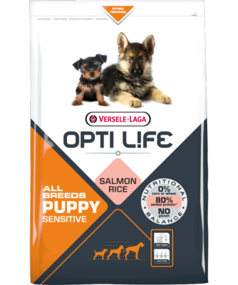 OPTI LIFE - CROQUETTES CHIOT ALL BREEDS SAUMON 12.5KG